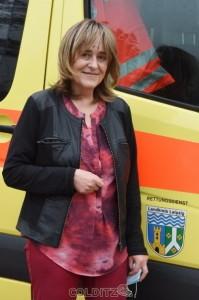 Carola Schneider - Betriebsleiterin des Komm. Eigenbetriebes für Brandschutz und Rettungsdienst beim LRA