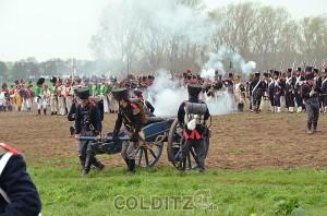 Gefecht der Napoleonischen Truppen