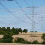 Die 380 kV - Trasse Richtung Raschütz