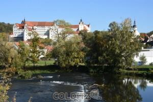 Schloss Colditz mit einer 1000-jährigen Geschichte