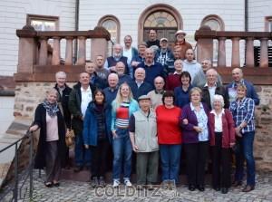 Die Colditz Society zu Gast im Schloss - dem einstigen Oflag IV C