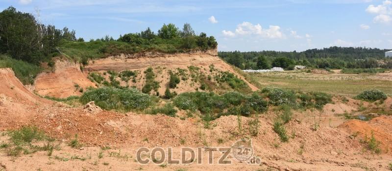 Reste der Kiesgrube Schönbach