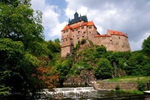 Burg Kriebstein an der Zschopau...