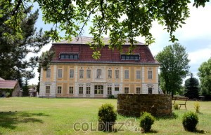 Das barocke Jagdhaus Kössern bei Gimma...