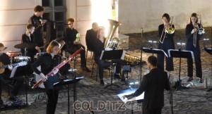 ...ein ein Jazz-Musiker mit Fagott