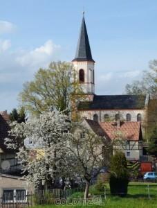 Die Zschirlaer Kirche