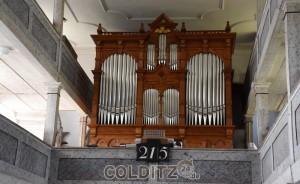 Die Erlbacher Orgel nach der Restaurierung